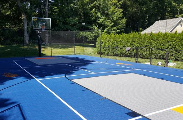 Mateflex Iii Vented Sport Tiles For Basketball And