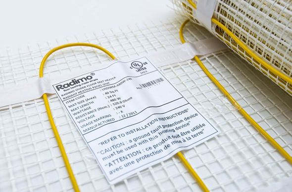 Radimo Radimat 120V Under Floor Heating System