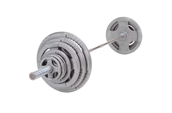 Body-Solid Olympic Grip Weight Sets