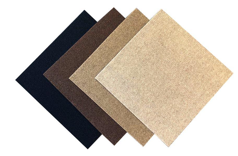 Premium Ribbed Carpet Tile Closeout