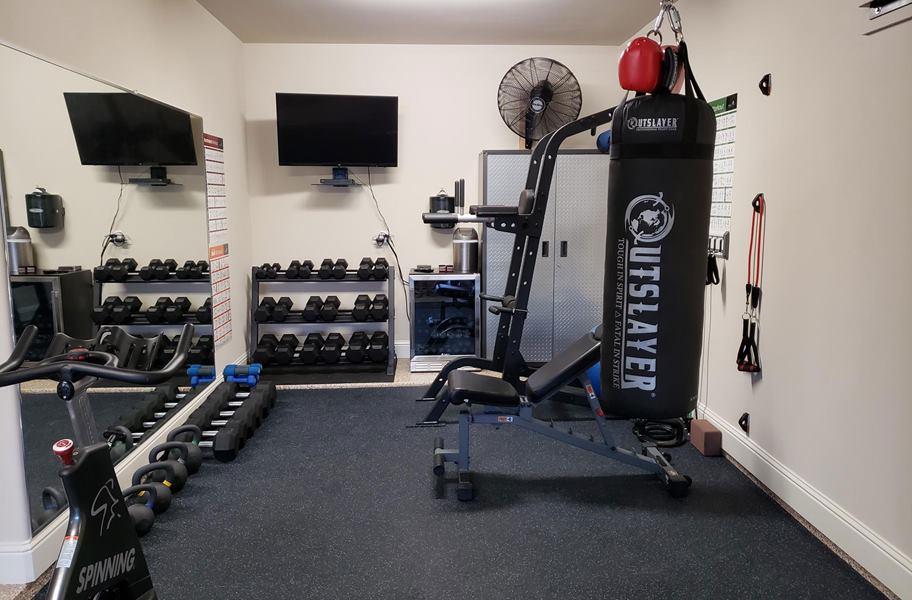 Mm strong rubber tiles best value gym floor tile