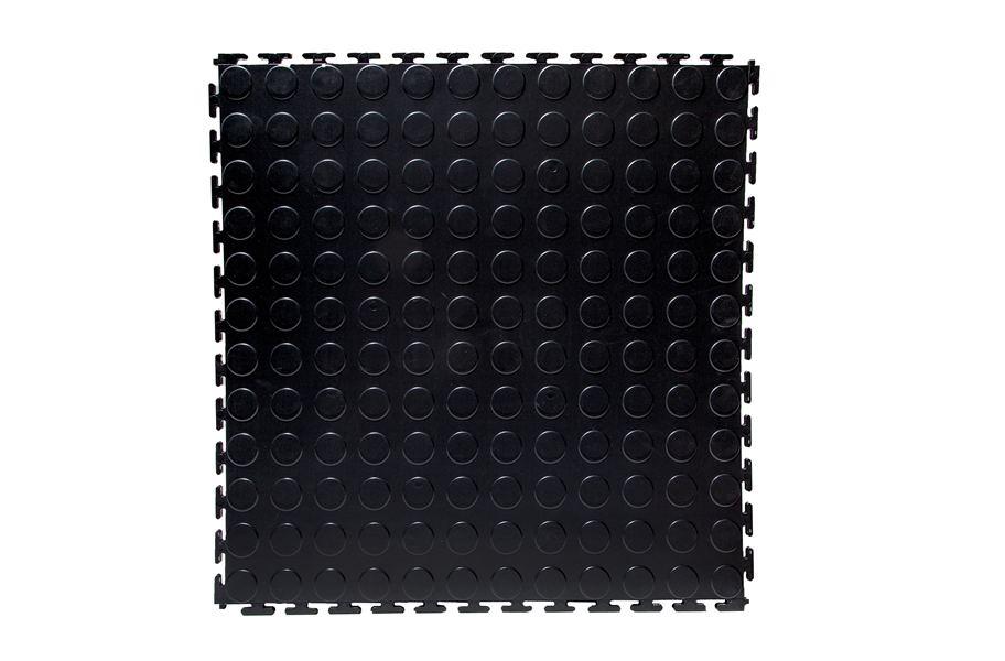 7mm Coin Flex Tiles Interlocking Pvc Garage Flooring