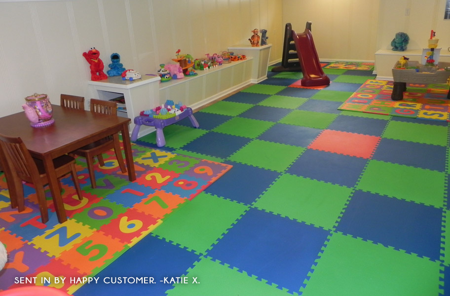Eco Soft Tiles Interlocking Foam Mats