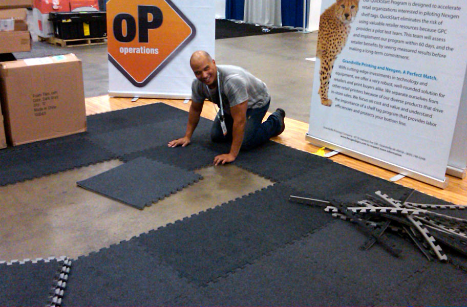 Eco Soft Carpet Tiles Interlocking Tile