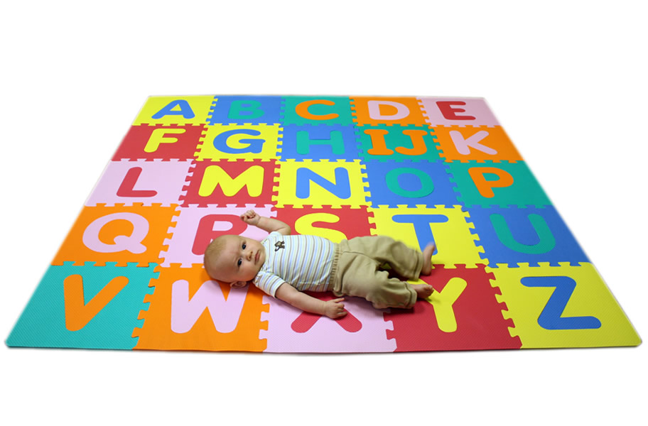 Foam Alphabet Mat Interlocking Kids Floor Mat
