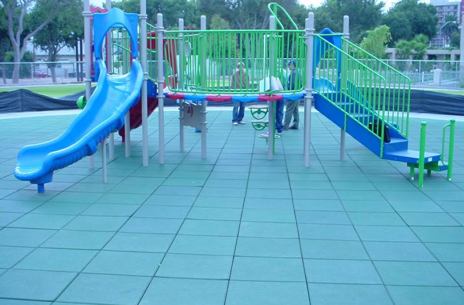 Safe Play Tiles Rubber Playground Tiles
