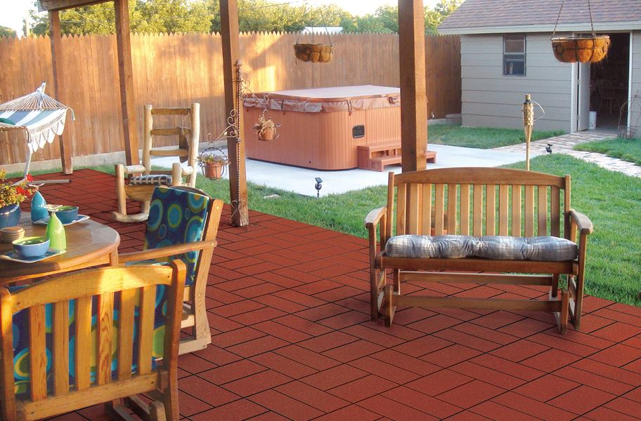 Paver Tiles West Coast Outdoor Rubber Pavers