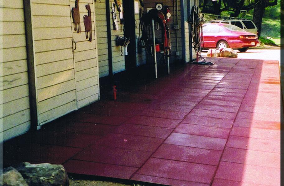 1 Inch Horse Stall Tiles Equine Floor Mats