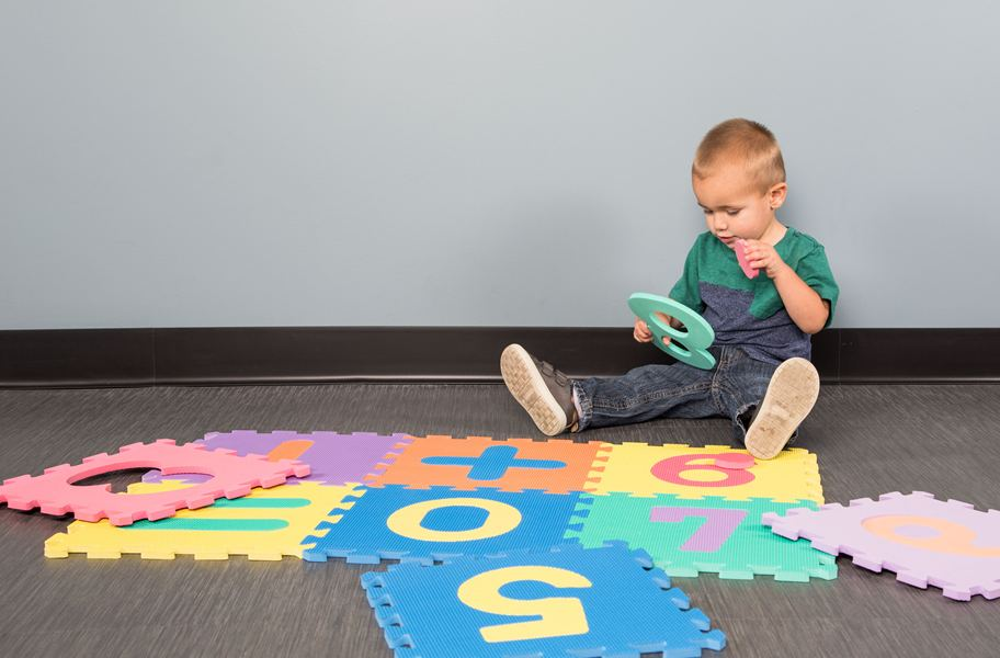 Learning Math Mat Foam Teaching Play Mat