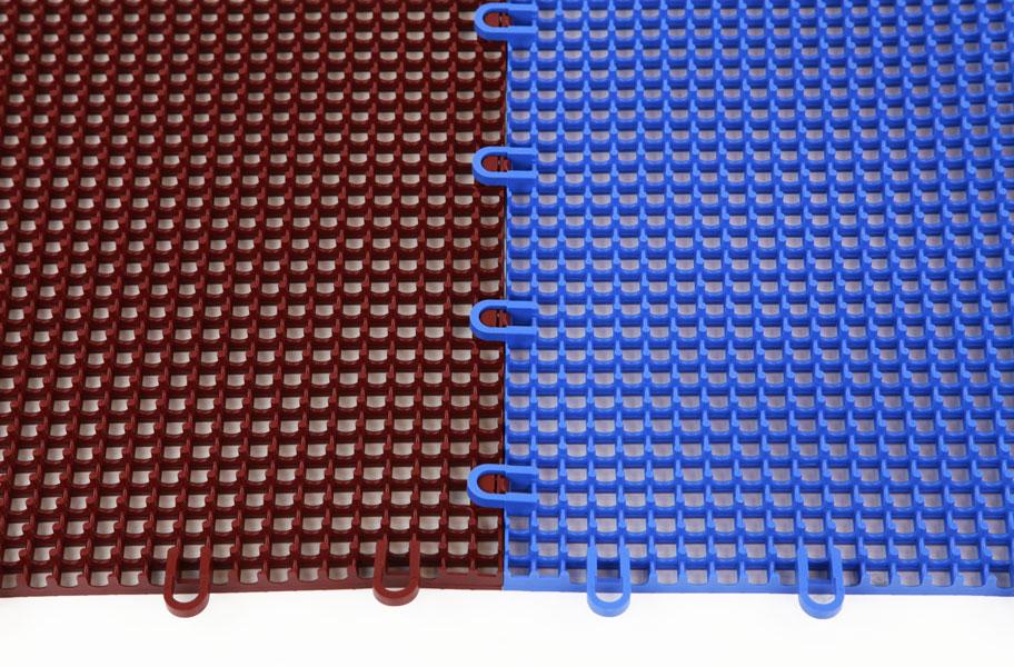 Smooth Grip Loc Tiles Drainage Plastic Deck Tiles