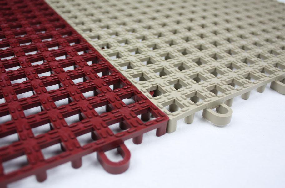 Raised Grip Loc Tile Bar Shelf Liner And Matting