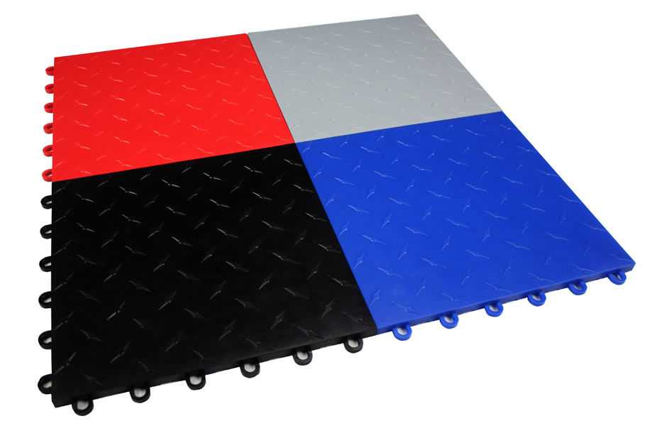 Octane Garage Floor Tiles Interlocking Modular Flooring