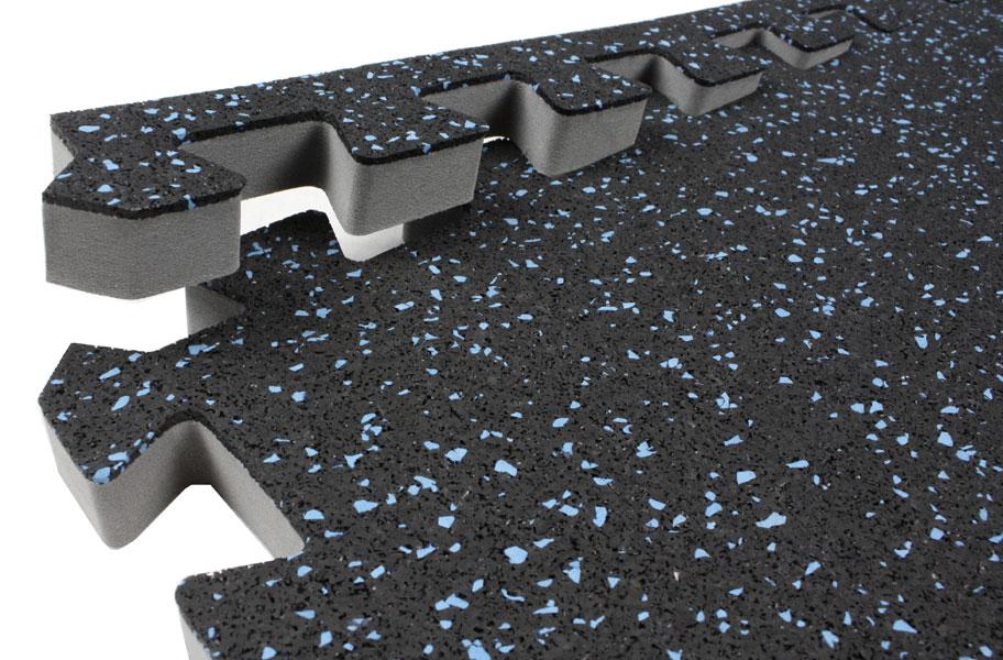 Interlocking Rubber Floor Tiles eco sport 1 inch interlocking rubber flooring tiles Tiles 34 Soft Rubber