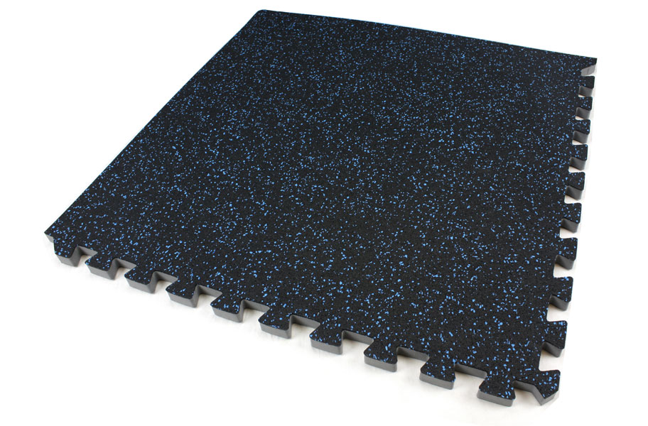 3 4 inch soft rubber foam rubber floor tiles for Rubber flooring