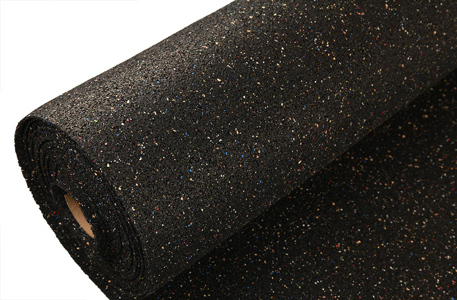 2mm Pre Cut Rubber Underlayment Rolls Sound Control