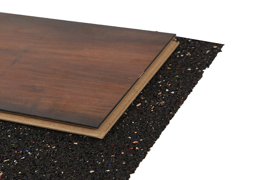 Acousticork Rr300 Recycled Rubber Floor Underlayment