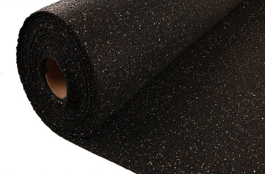 12mm Pre Cut Rubber Underlayment Helps Sound Proof Floors