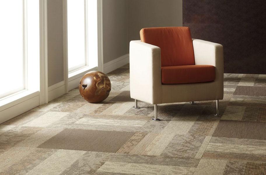 Shaw Static Carpet Tiles Colorful Floor Carpet Tiles