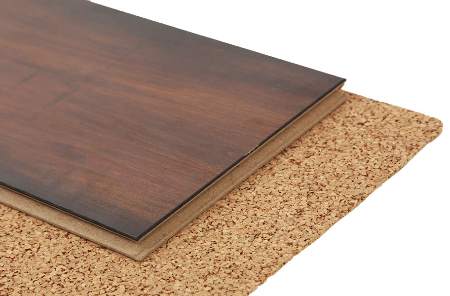 Acousticork quiet comfort underlayment floor underlay for Floor underlayment