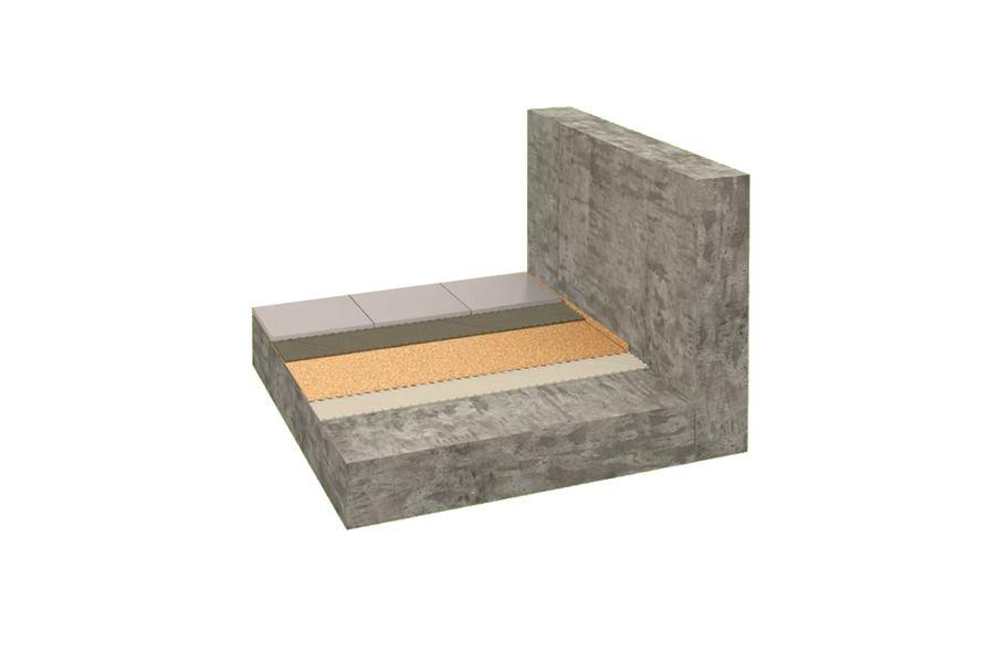 6mm Eco Cork Underlayment Laminate And Tile Floor Underlay