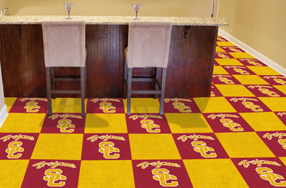Fanmats Ncaa Carpet Tiles Officially Licensed Modular