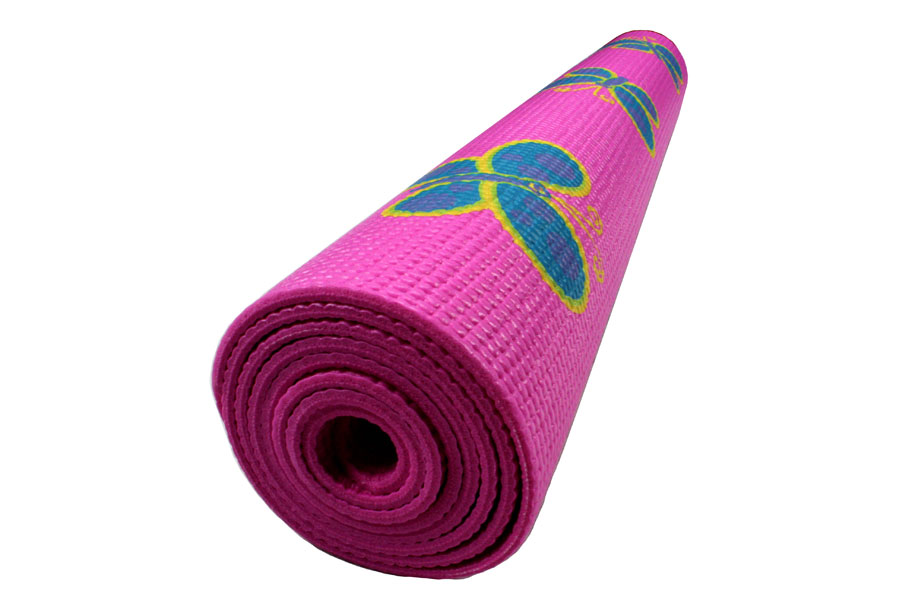 buy mat pink online in zoom mats pvc i india yoga yogamat home