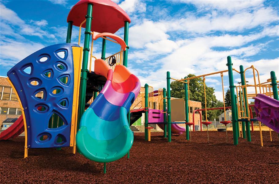 Playground Rubber Mulch