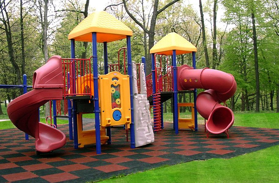 Rebound Playground Tiles Designer Series Outdoor