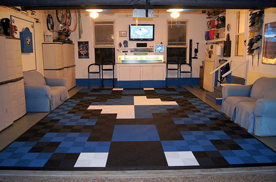 Ribtrax Tiles Premium Interlocking Garage Tiles