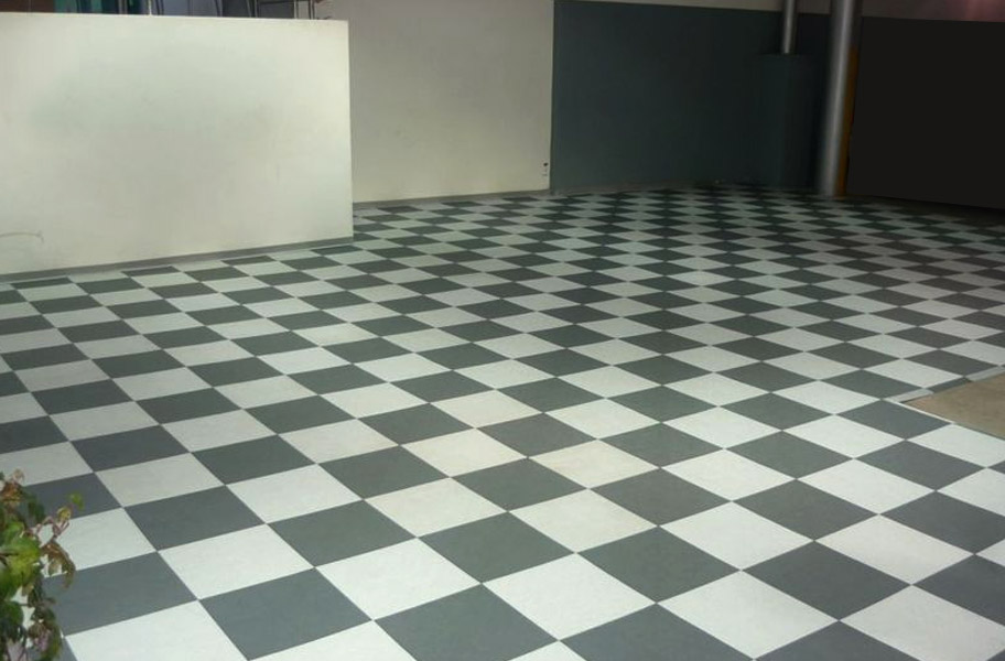 Smooth Xl Grid Loc Tiles Solid Interlocking Garage Tiles