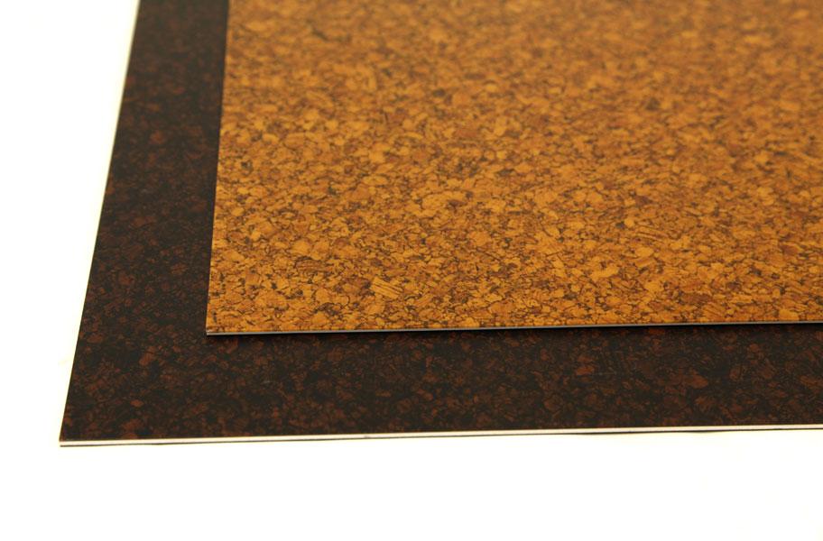 Cork Vinyl Planks Residential Resilient Flooring