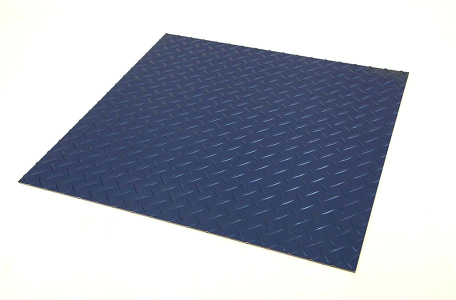 Tread Plate Vinyl Tiles Durable Diamond Plate Vinyl Tiles