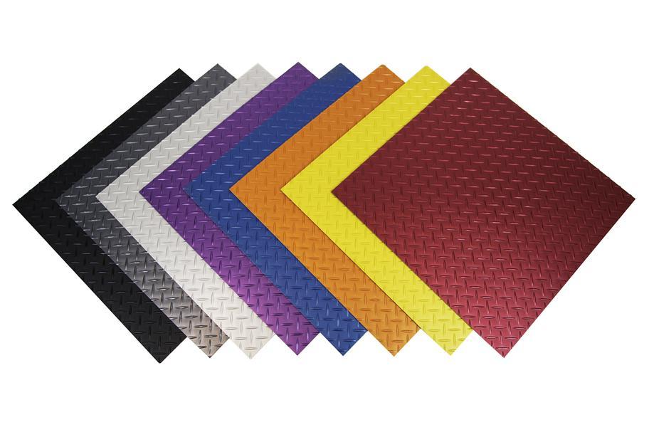 Tread Plate Vinyl Tiles Durable Diamond