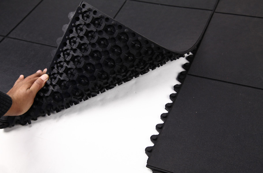 Evolution Rubber Tiles High Impact Interlocking Rubber Tiles