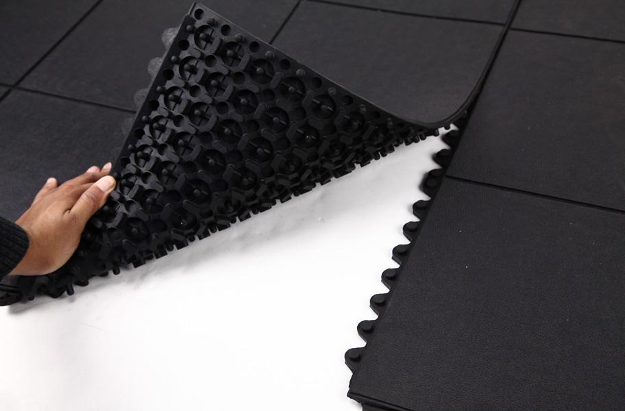 Evolution Rubber Tiles High Impact Interlocking Rubber Tiles