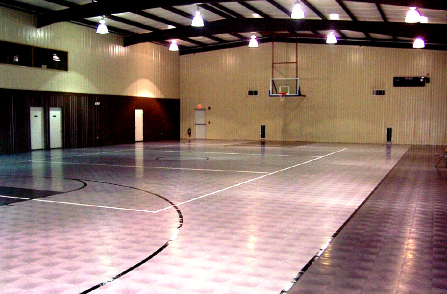 Indoor basketball court flooring cost gurus floor for Indoor basketball court cost