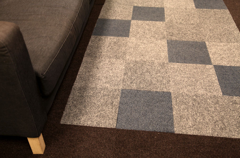Shaw Living Berber Carpet Tiles Low Cost Self Adhering