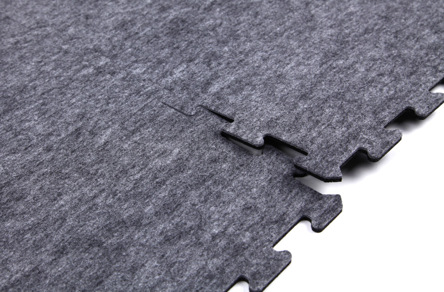 8mm Carpet Rubber Tiles Signature Series Rubber Backed