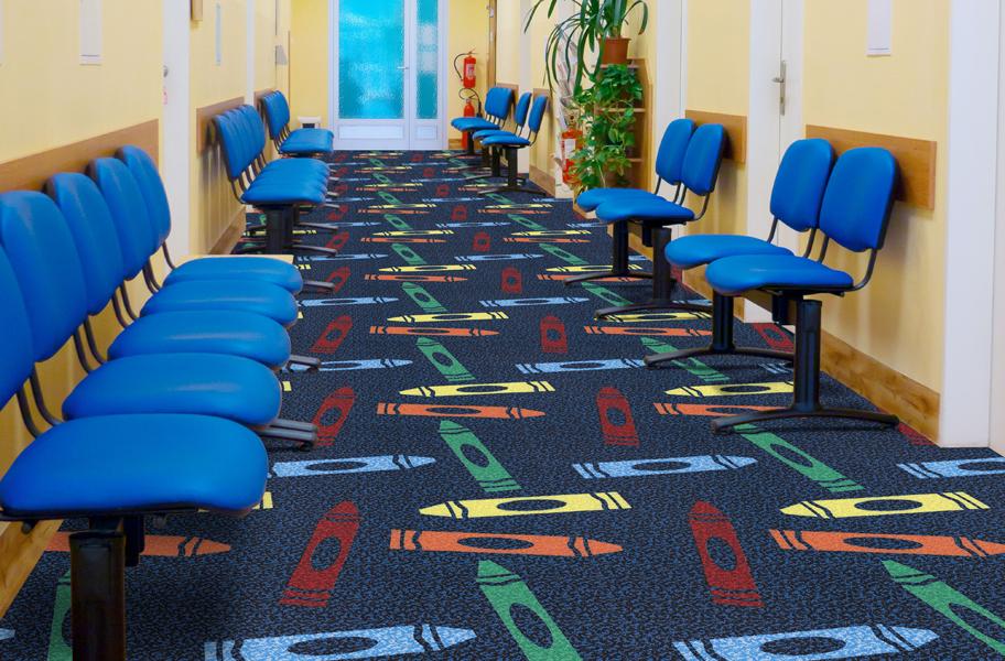 Joy Carpets Colors Commercial Grade Carpet Tiles