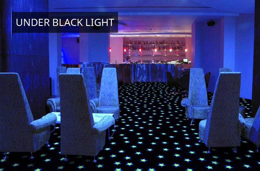 Joy Carpets Neon Lights Glow In The Dark Carpet Tile Squares