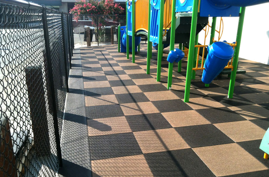 Playtime Interlocking Playground Tiles Quality Safety