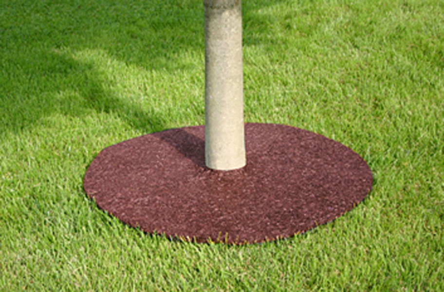 Rubber Tree Rings - Easy To Install Maintenance Free Tree Rings