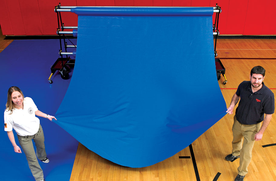 Gym Floor Covers Vinyl Gymnasium Floor Protectors