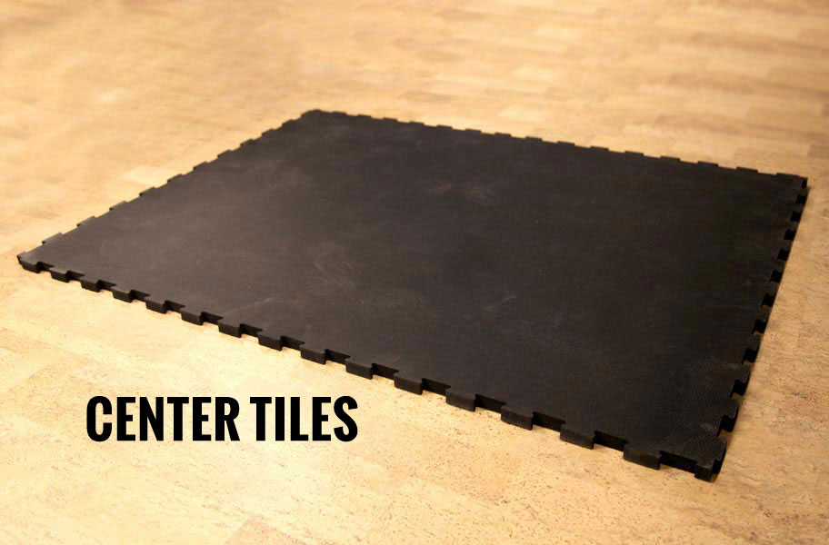 34 Rubber Gym Tiles Heavy Duty Commercial Interlocking Rubber Tiles