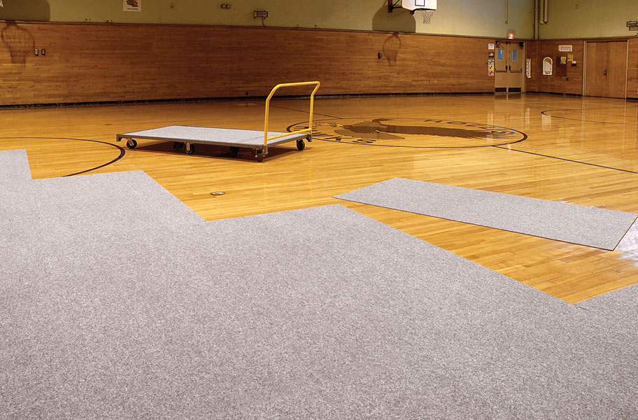 Gym Floor Cover Tiles Easy To Install Gymnasium Floor Protectors
