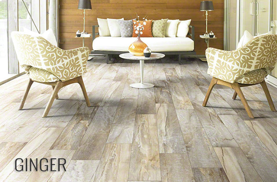 Shaw Easy Style Vinyl Planks - Stone and Wood Look Flooring