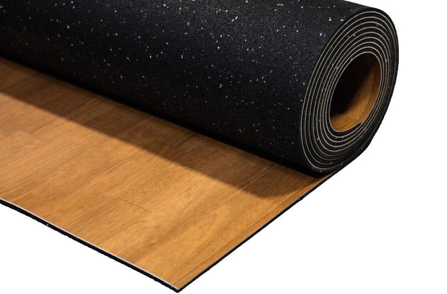 Impact Rolls Wood Series Shock Absorbent Court Flooring