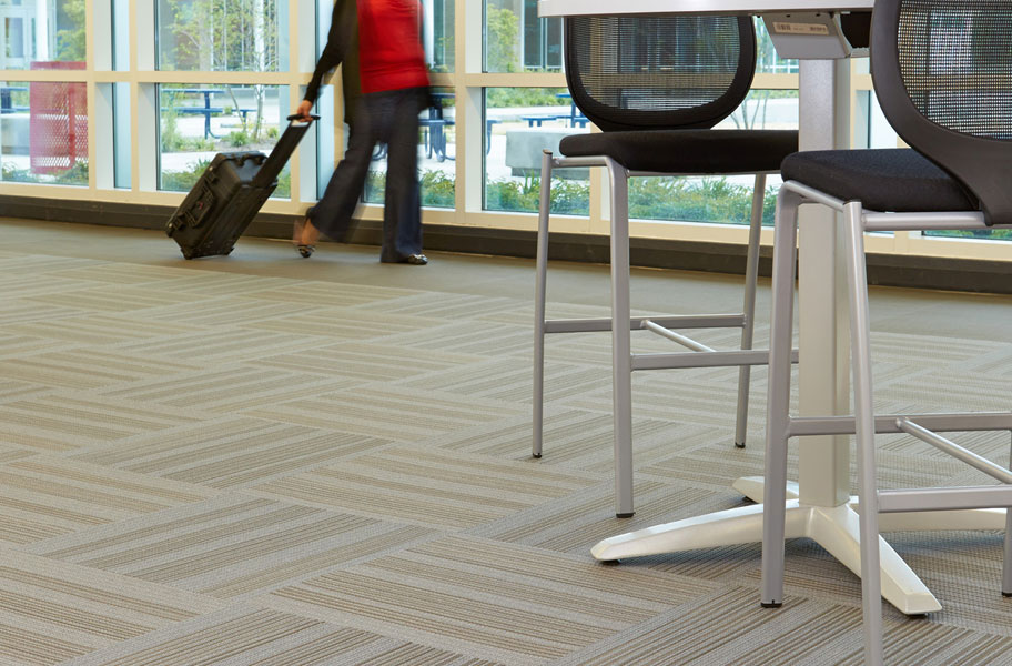 Sound Absorbing Flooring : Velocity carpet tiles comfortable sound absorbing floor