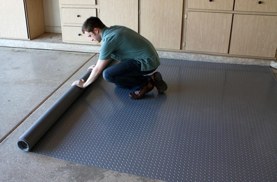Diamond Nitro Roll Remnants Closeout Garage Roll Flooring