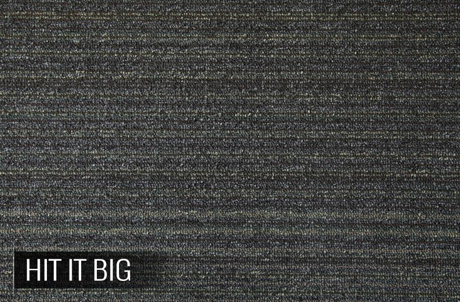 Shaw Lucky Break Carpet Tiles Line Patterned Floor Tile